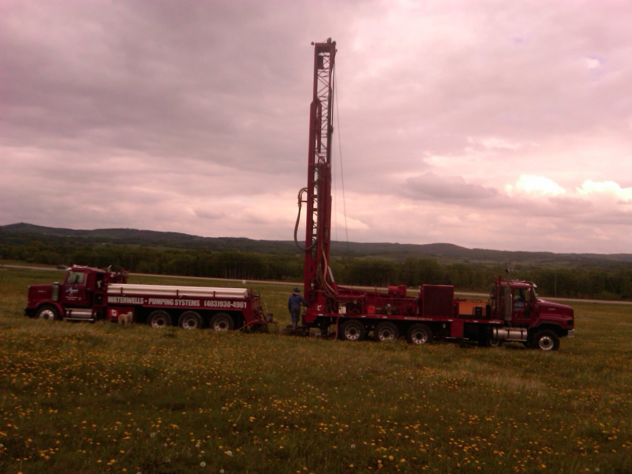 Well Drilling Trucks